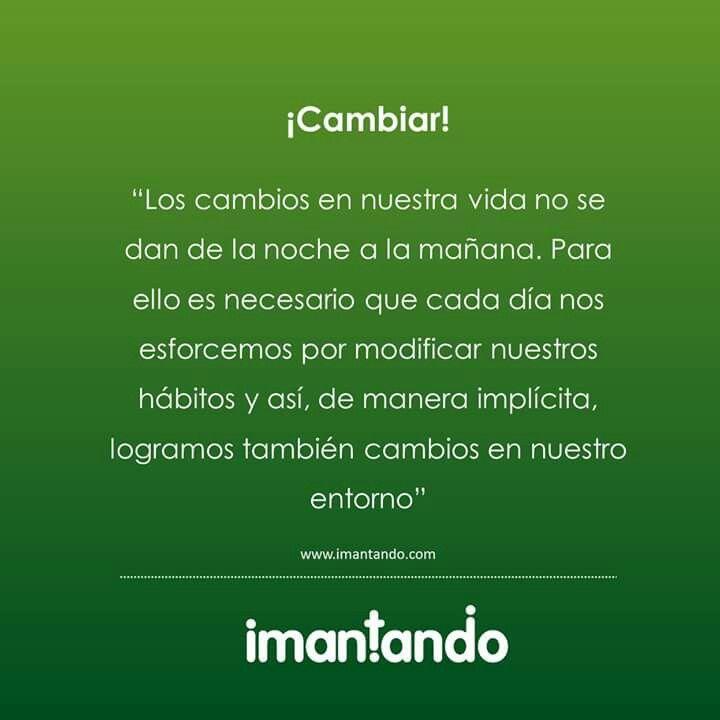 Hoy es un buen día para implementar nuevos hábitos y lograr cambios. #Padres #Hijos #Crianza #Niños  #MedellínCuentaConVos
