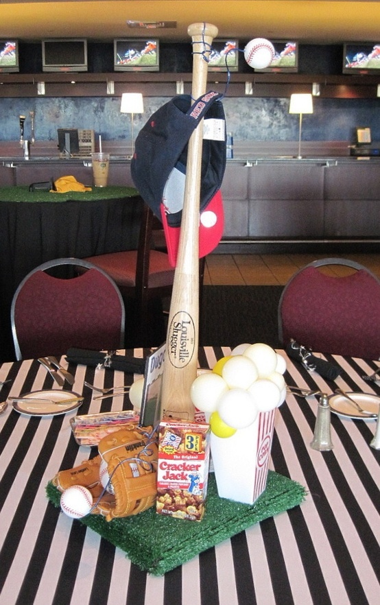 baseball themed weddings ideas - Bing Images, maybe for your rehearsal dinner Sabrina??