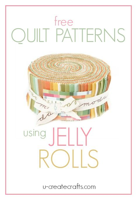 "What is a Jelly Roll in quilting terms? A Jelly Roll has forty 2½"" x 44″ strips of fabric. These forty strips are layered, rolled up tight, and tied with a bow. Jelly Rolls are wonderful and save so m"
