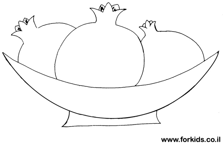 shana tova coloring pages - photo#2