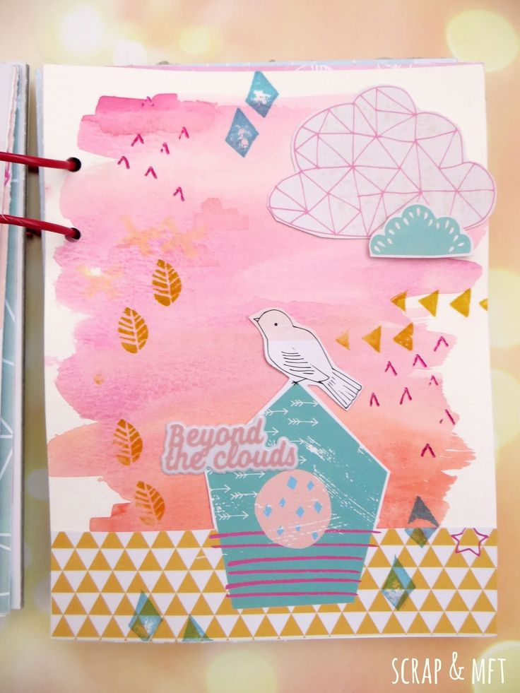 SCRAP & my favourite things: Mini álbum Summer Days