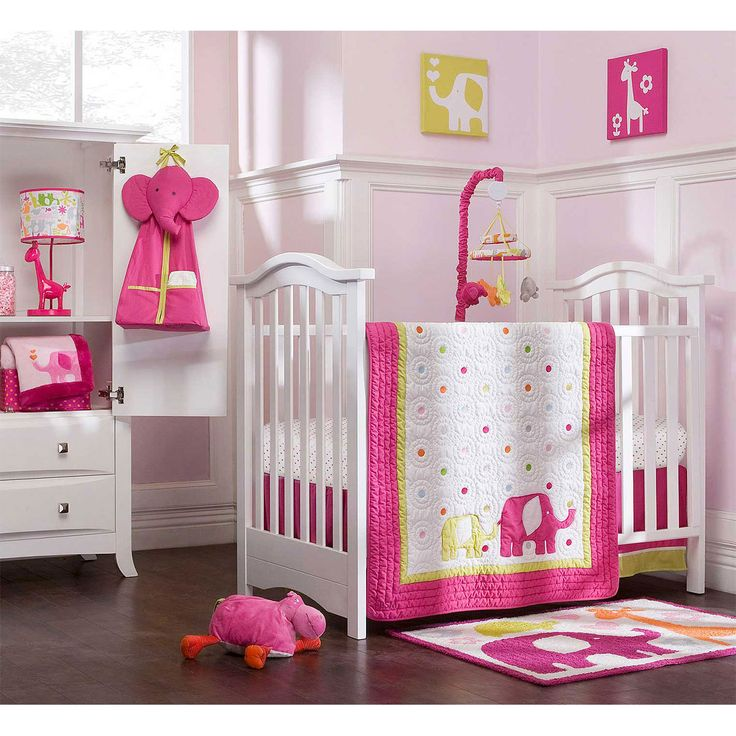beautiful baby girls bedroom decorating ideas pink girl safari baby nursery room decor inspiration - Baby Bedroom Theme Ideas