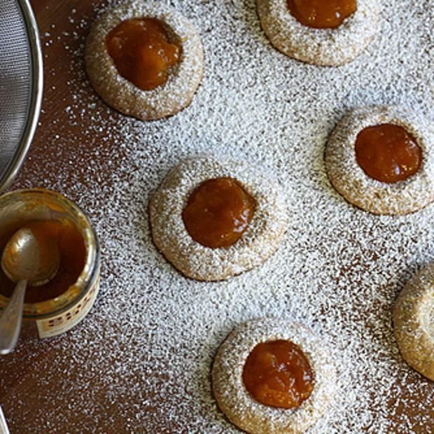 ... ginger thumbprint cookies gingerbread cheesecake thumbprint cookies