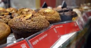 Indulge your sweet tooth, with a variety of muffins.