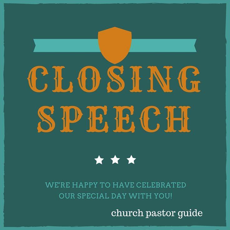 occasion speech for pastor anniversary -Sample occasion speech