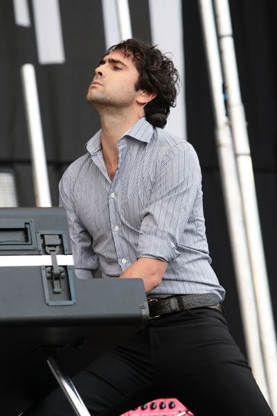 Tim Rice-Oxley. The brains of Keane.