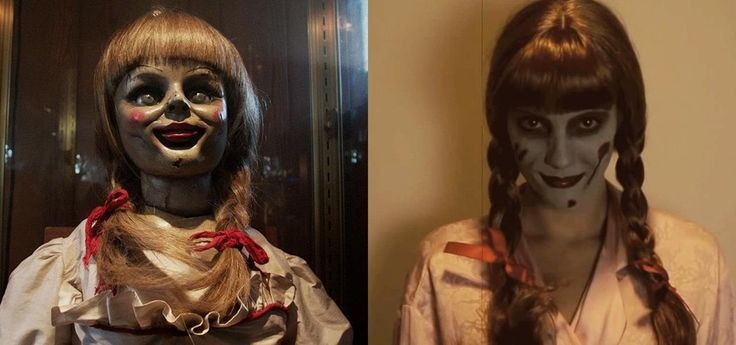 The real Annabelle Doll might not be so creepy, but the one depicted in 'The Conjuring' is, and is sure to be a hit costume this Halloween.