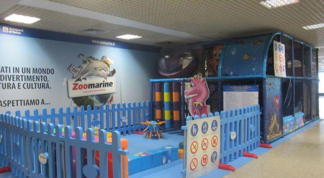 Playground Ocean Roma, Realizzazione presso l'aereoporto di Roma Fiumicino.