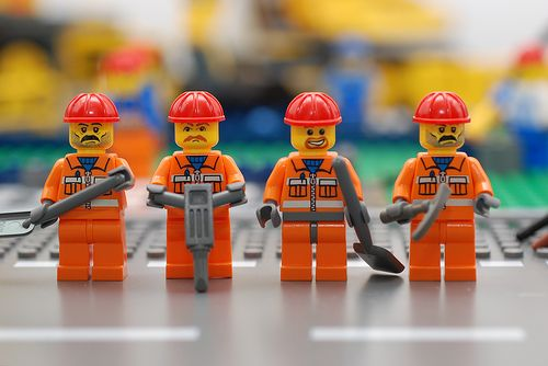 Everything really is awesome when you're a construction apprentice.