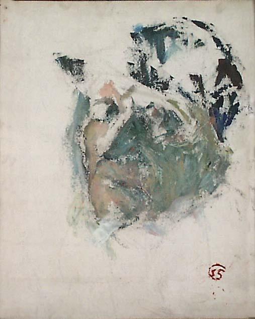 Sigrid Schauman: Self-portrait.