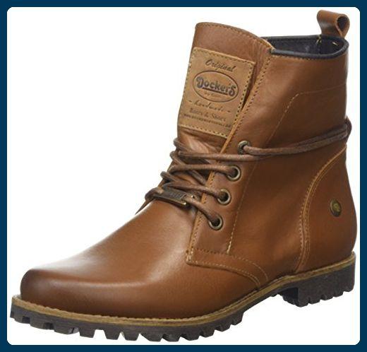 Dockers by Gerli Damen 41IY202-120470 Desert Boots, Braun (Cognac), 40 EU - Stiefel für frauen (*Partner-Link)