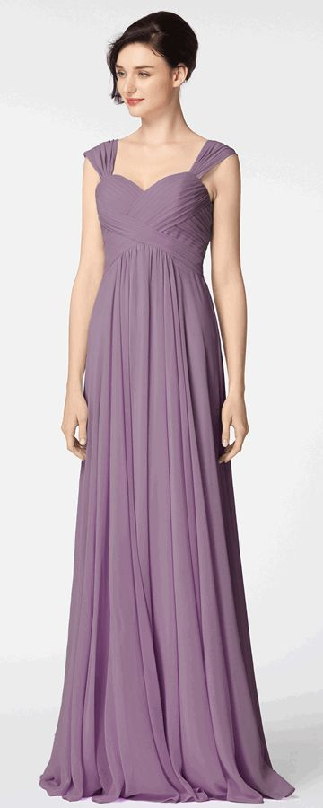 wisteria purple formal dresses with straps evening dresses long