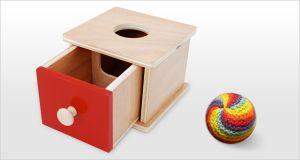 Réaliser un Imbucare à Tiroir : Modèle en Bois. How To Make a Montessori Imbucare Box.