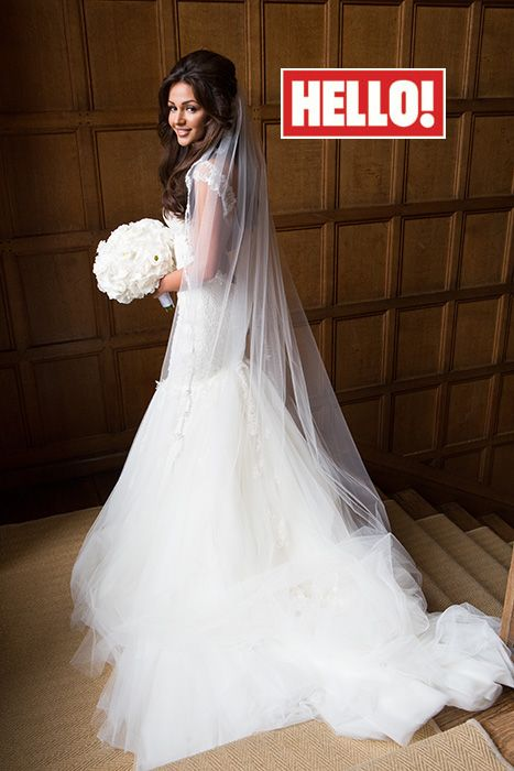 Michelle Keegan talks wedding dress in HELLO! magazine interview