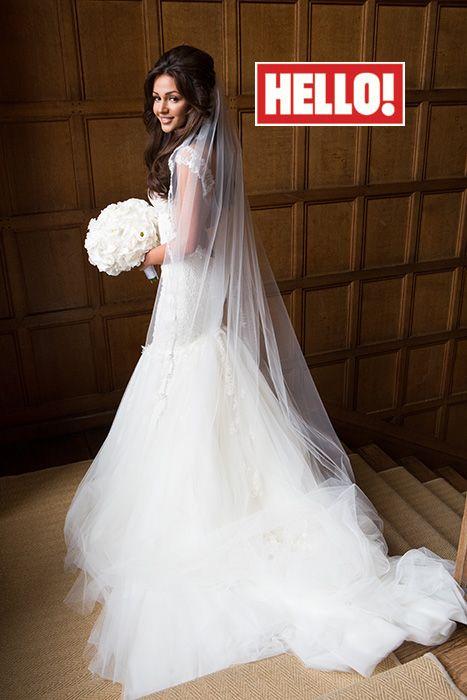 Michelle Keegan talks wedding dress details with HELLO!