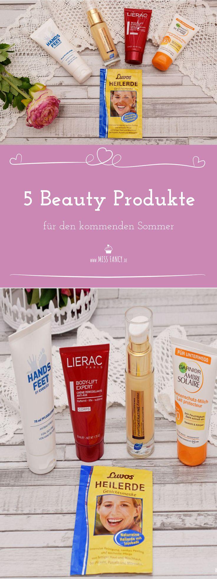 Meine 5 Beauty Produkte für den Sommer