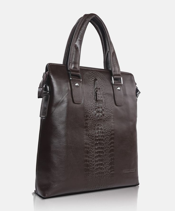 Bag GA 83532 brown Giorgio Agnelli Men's leather bag