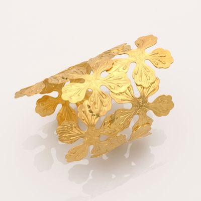Cuffs are in! Beautiful brass cuff, 21k gold plated, www.cazabrand.com #brass #jewelry #cuffs
