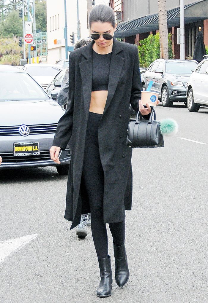 Three simple pieces make up the foundation of Kendall Jenner's most statement-making looks.