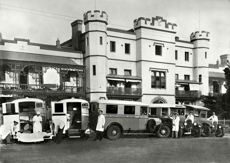 Somerset Hospital, c1940. |