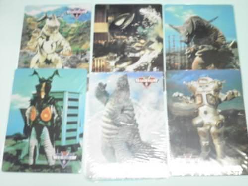 【下敷き】ウルトラマンコレクション 6種類6枚セット