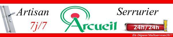 Dépannage serrurier Arcueil est un service d'assistance d'urgence en dépannage serrurerie sur la commune de Arcueil. Nous assurons votre installation de verrou, bloc serrure, barillet, cylindre de porte et la pose de cornières anti-pinces dans la journée.
