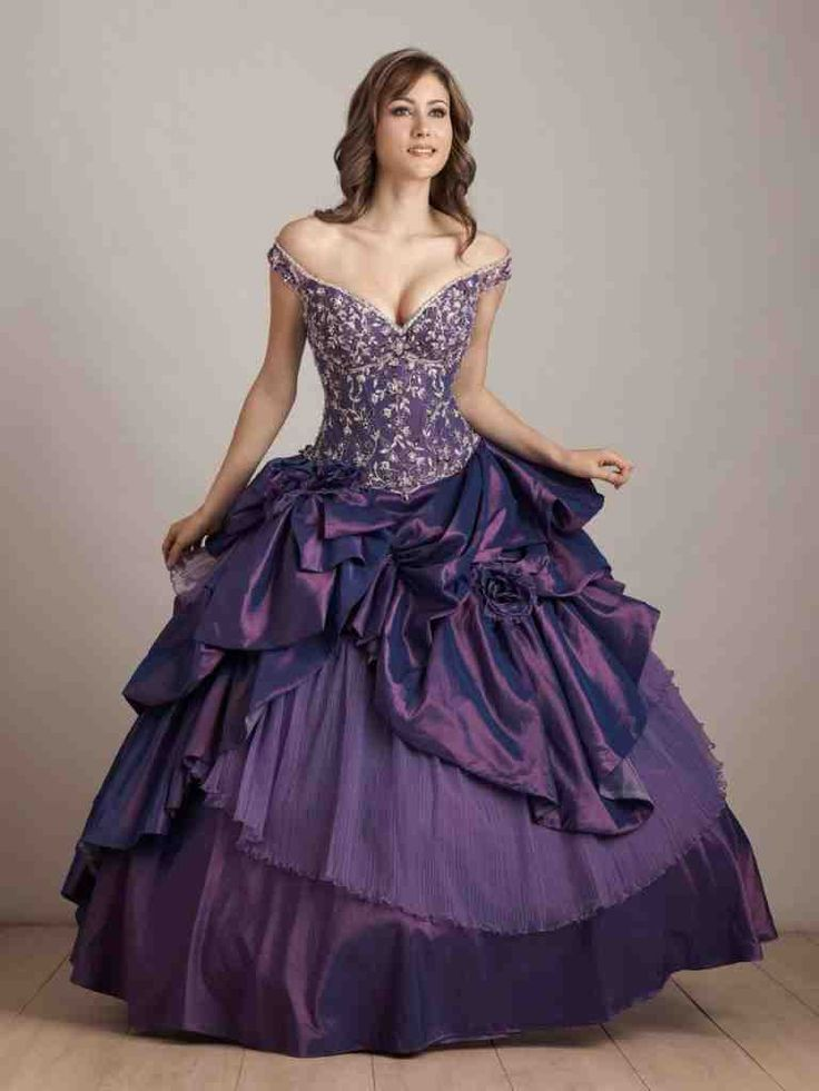 Mejores 28 imágenes de purple wedding dress en Pinterest | Vestidos ...