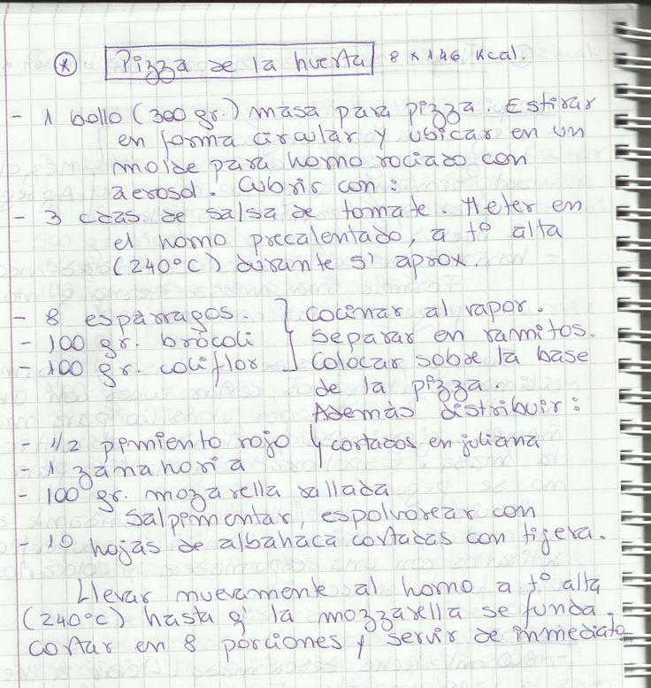 PIZZA DE LA HUERTA   #SALADO #COCTEL #PIZZA #VERDURAS