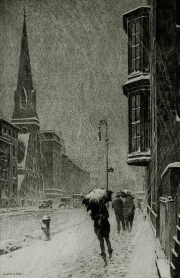 Bay Windows--Martin Lewis, 1929