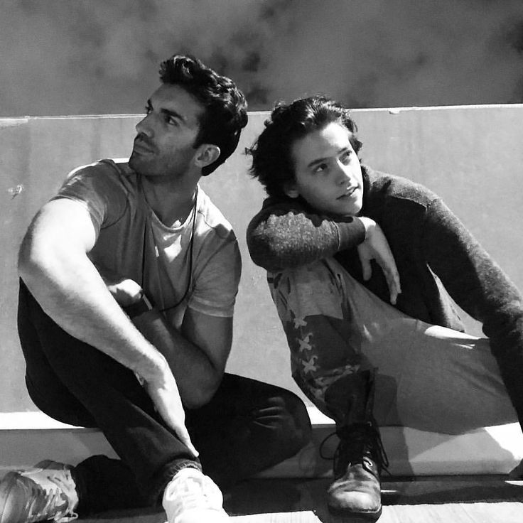 New/Old Photo Of Cole With Justin Baldoni On The Set Of