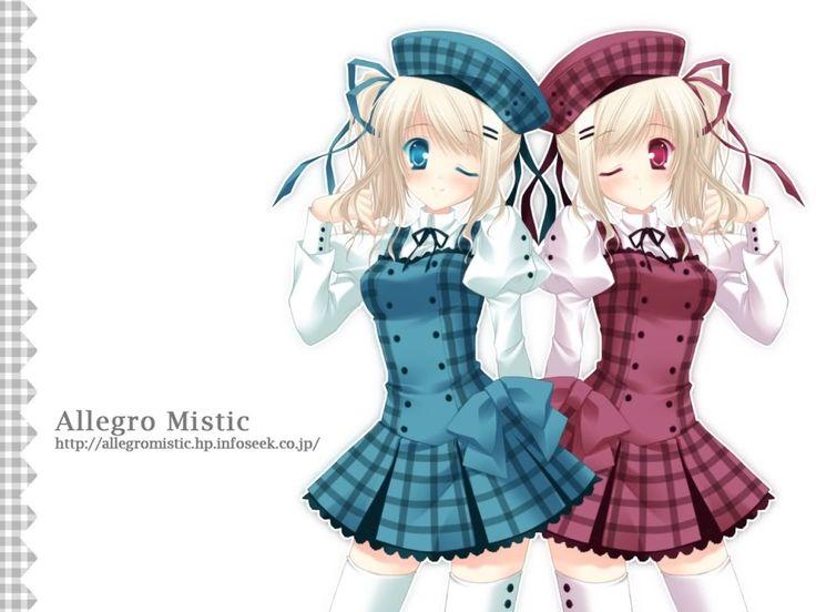 Anime Twins Photo by MajesticDragon | Photobucket