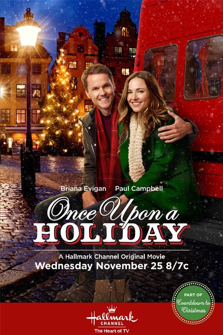 """Its a Wonderful Movie - Your Guide to Family Movies on TV: Hallmark Channel Christmas Movie """"Once Upon A Holiday"""""""