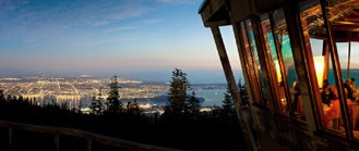 GROUSE MOUNTAIN, NORTH VANCOUVER.