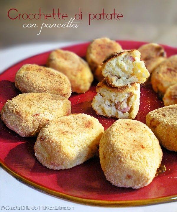 Crocchette di patate con pancetta