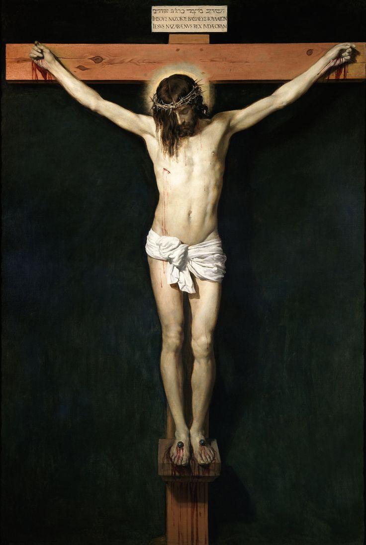 Diego Rodriguez de Silva y Velazquez - Christ on the Cross, 1632