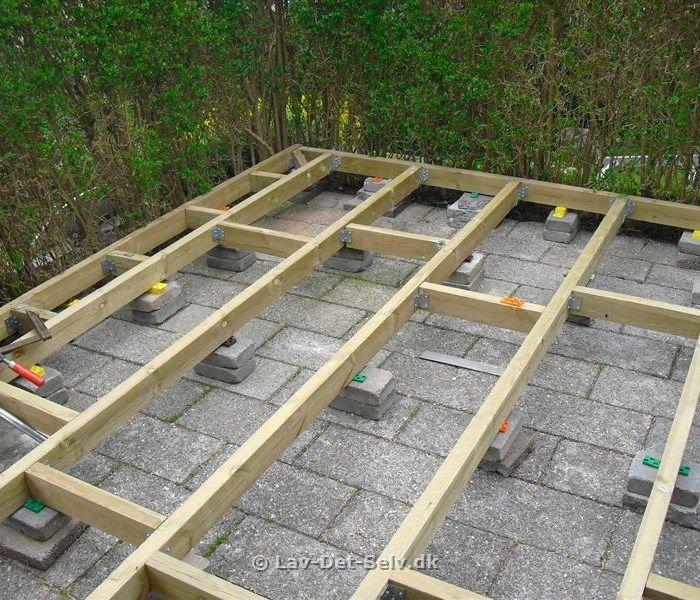 Alle nye Ny træterrasse 2/2 - projekt på Lav-det-selv.dk   Træ-terrasser AC96