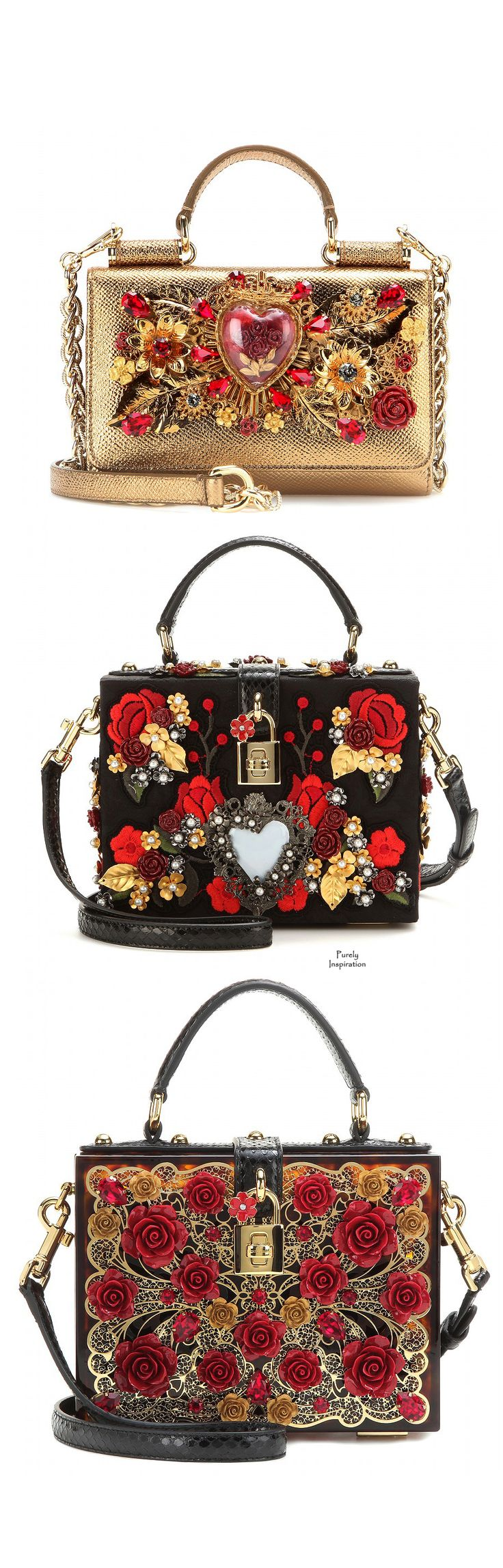 Dolce & Gabbana shoulder bags SS2015 | Purely Inspiration