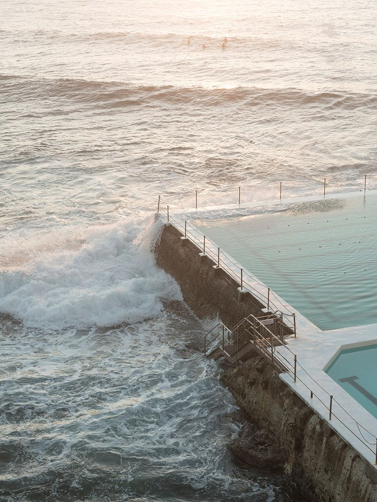 As a keen swimmer, I have returned to these pools time and time again throughout my life. Bondi Icebergs was a favourite, but I also liked the Bronte Baths – as wild as the ocean on a stormy day.