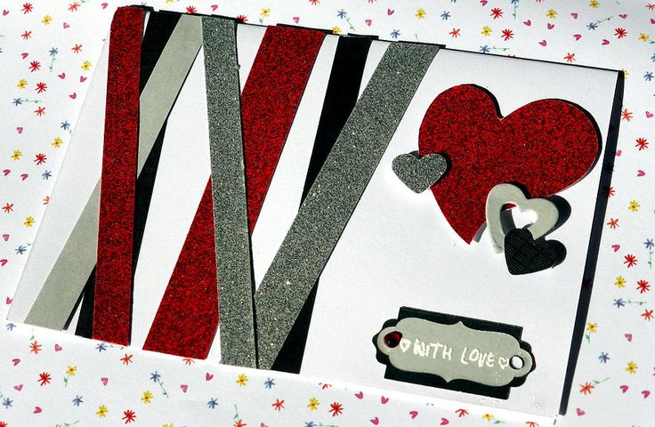 padiesha   Tarjeta San Valentín. Con Amor.  Valentine´s Card. With Love.