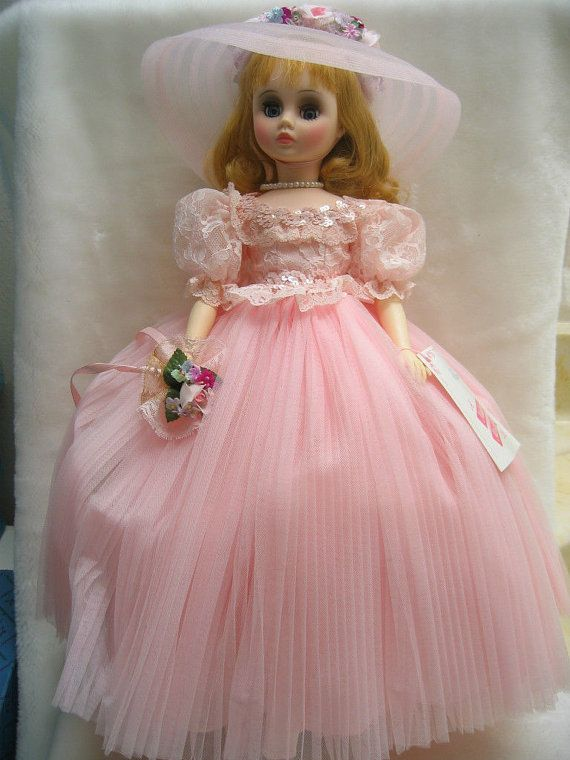 Vintage Pretty Madame Alexander Doll 1982 By