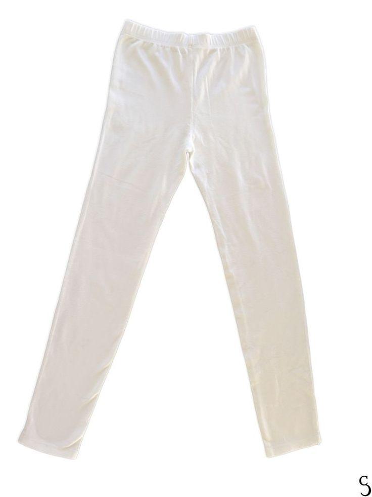 Gap Girl Kids Amazing Legging, Strech White Elastic Pants _ Size: XXL / 14 - 16 #GapKids #Strech #Everyday