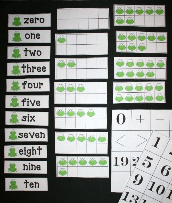 Ten Frame Anchor Chartlove This Math Teaching Repinned By
