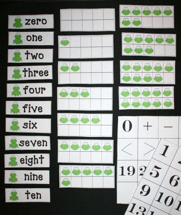 Ten Frame Anchor Chartlove This Math Teaching Repinned By. 10