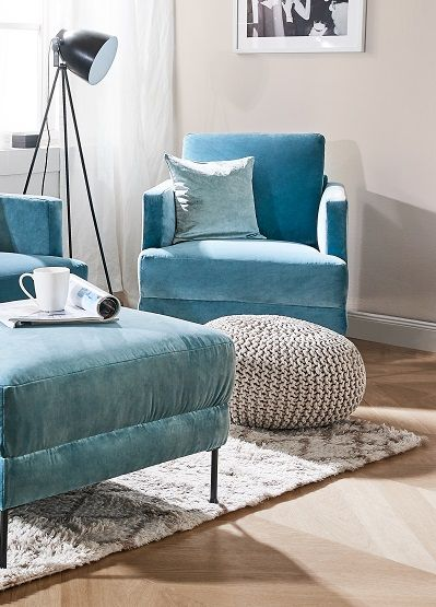 Samt Hocker Fluente In 2018 Poufs Pinterest Home Decor Decor
