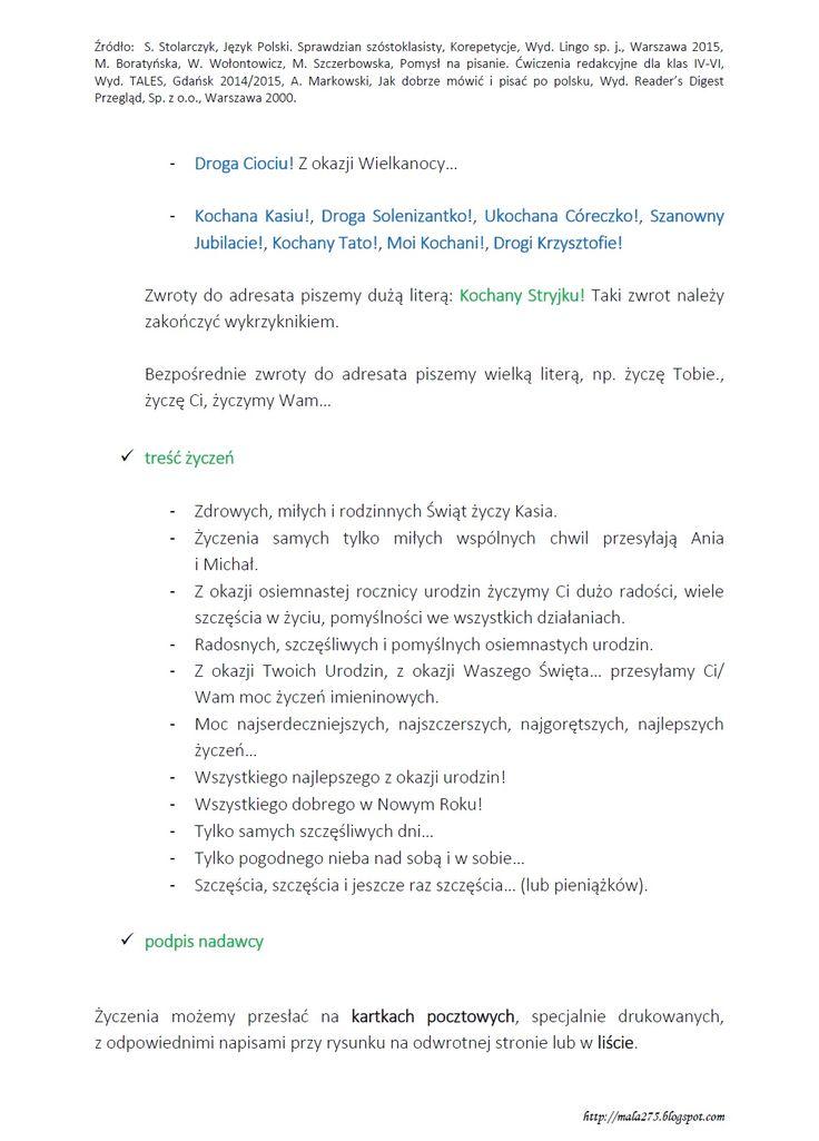 Polecam również stronkę:     https://zabawyjezykiempolskim.wordpress.com/2011/11/01/o-skladaniu-swiatecznych-zyczen-konspekt-lekcji/...