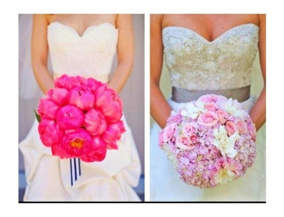 stunningly round bouquets