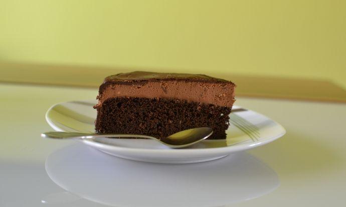 Bezlepkový čokoládový dortík