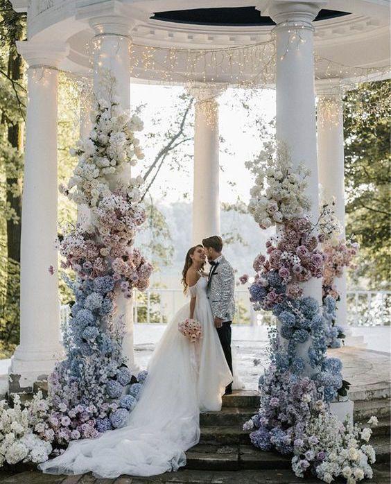 48 UNIQUE WEDDING SCENE DECORATION WILL BE IMPRESSIVE – Page 45 of 48