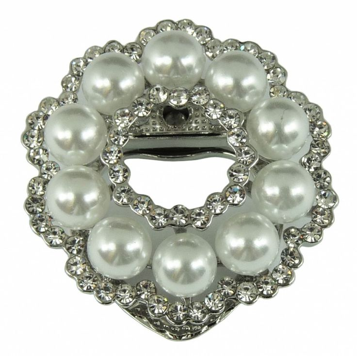 Klip na šátek s perlou 5747   Bižuterie Kozák