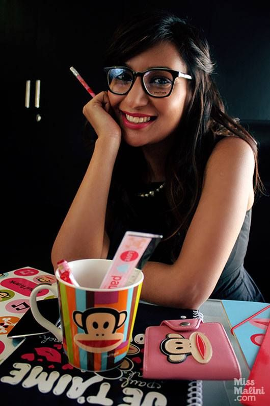 Take #PaulFrank to work! Check out how #MissMalini adds a little attitude to her office with Paul Frank accessories!